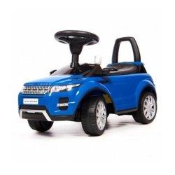 Толокар каталка Range Rover Evoque CLB348B синий (музыка, гудок, бардачок)